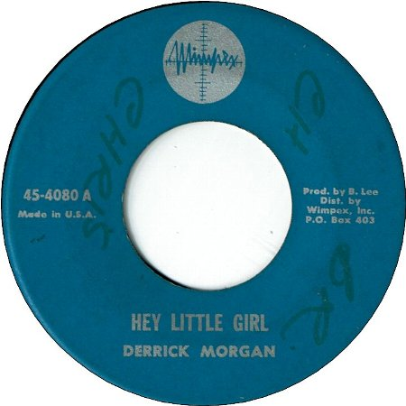 HEY LITTLE GIRL (VG+/WOL) / DON'T BLAME THE MAN (VG+/WOL)