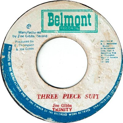 THREE PIECE SUIT (VG) / BIG FAT THING (VG)