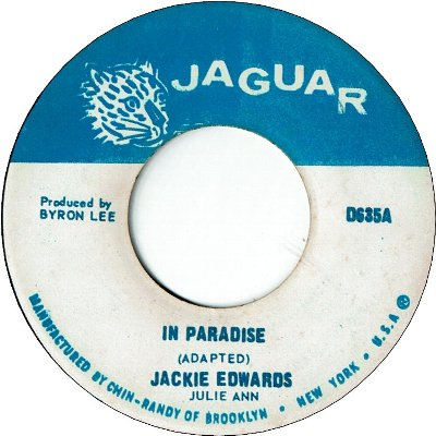 IN PARADISE (VG+) / TAKE ME AS I AM (VG+)