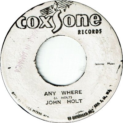 ANY WHERE (VG+) / VERSION (VG+)