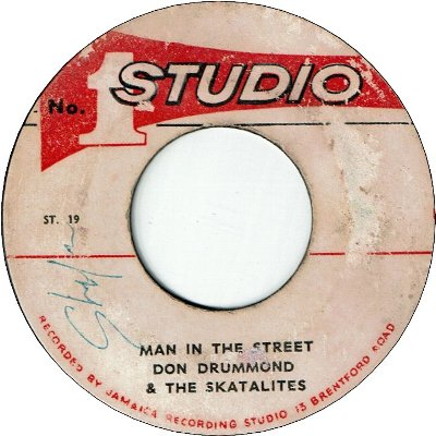 MAN IN THE STREET (VG) / YOU ARE MY ONE LOVE (VG- to VG)