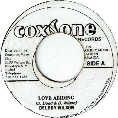 LOVE ABIDING (VG) / SOLID ROCK (VG+/WOL)