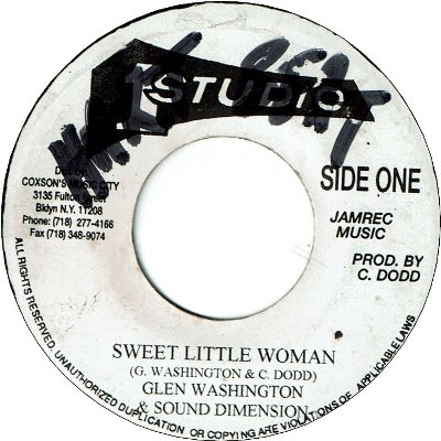 SWEET LITTLE WOMAN (VG to VG+/WOL) / VERSION (VG+)
