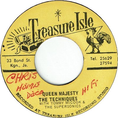 QUEEN MAJESTY (VG/WOL) / BAD MINDED PEOPLE (VG/WOL)