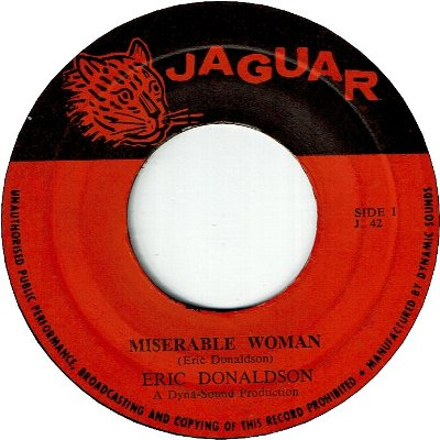 MISERABLE WOMAN (VG+) / THE LION SLEEPS (VG+)