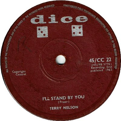 LOVE ON SATURDAY NIGHT(VG) / I'LL STAND BY YOU (VG)