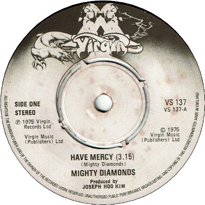 HAVE MERCY (VG+) / THE NEVER LOVE POOR MARCUS (VG)
