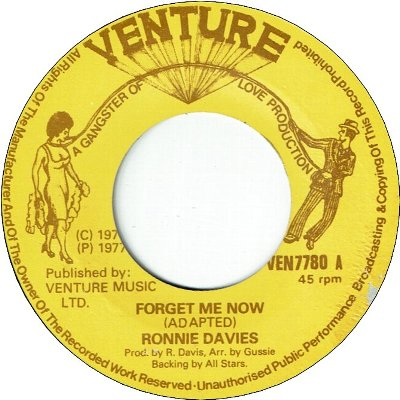 FORGET ME NOW (VG) / VERSION (VG)