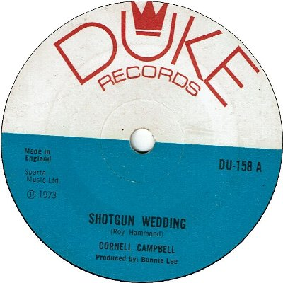 SHOTGUN WEDDING (VG) / GIRL OF MY DREAMS