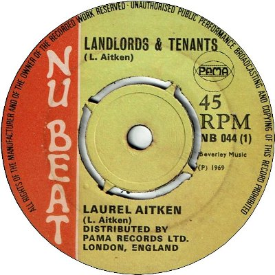LANDLORDS & TENANTS (VG+) / EVERYBODY SUFFERING (VG+)