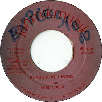 BLACK STAR LINER (VG/WOL) / VERSION (VG-)