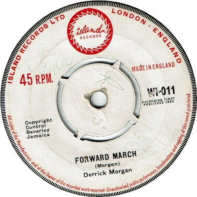 FORWARD MARCH (VG+/SWOL) / PLEASE DON'T TALK ABOUT ME (VG+)