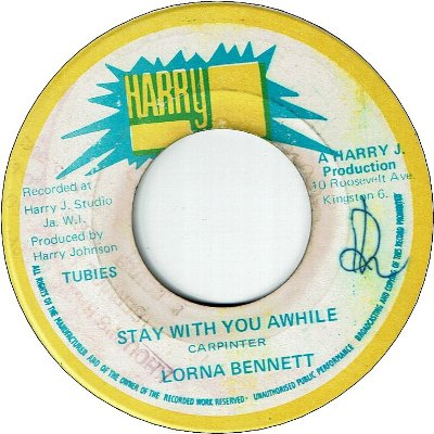 STAY WITH YOU AWHILE (VG/WOL) / VERSION (VG)