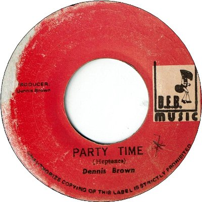 PARTY TIME (VG) / VERSION (VG+)