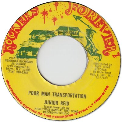 POOR MAN TRANSPORTATION (VG+) / VERSION (VG)