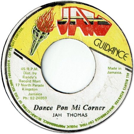 DANCE PON MI CORNER (VG) / VERSION