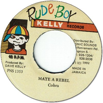 MATE A REBEL (VG+)