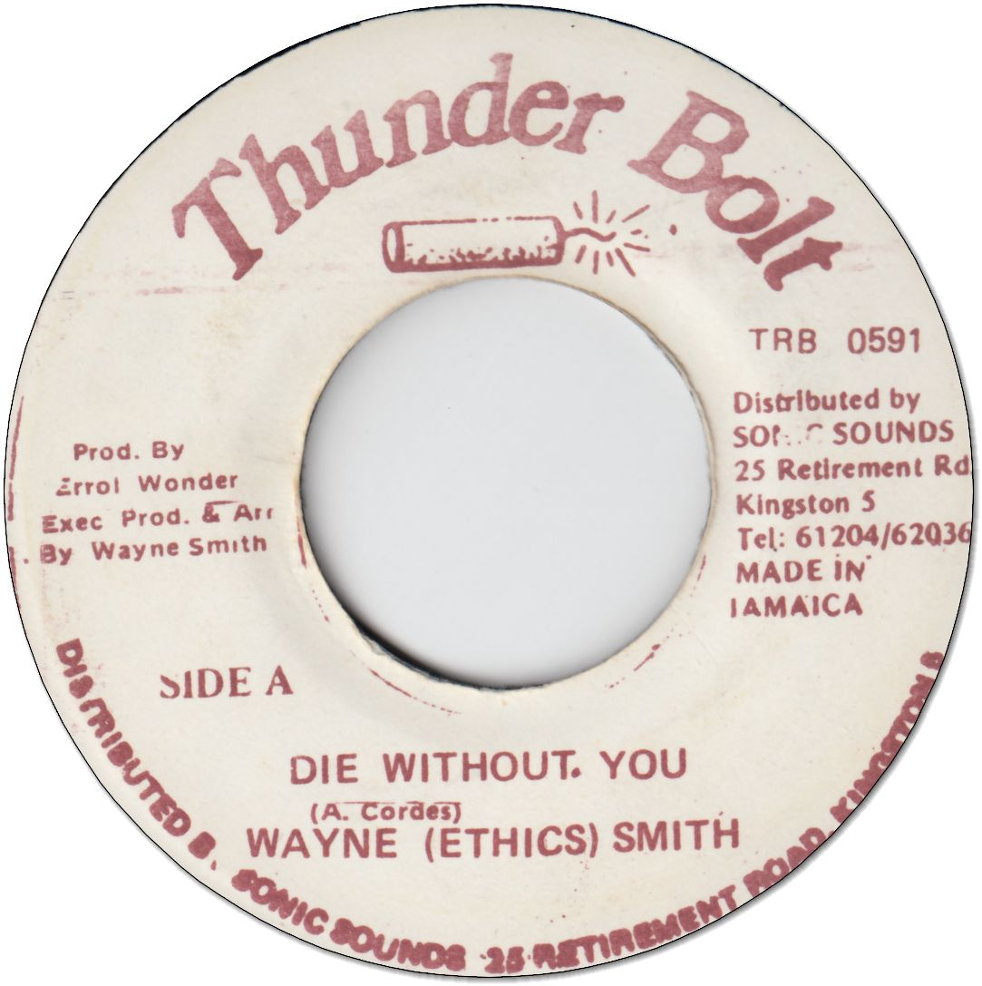 DIE WITHOUT YOU (VG+)