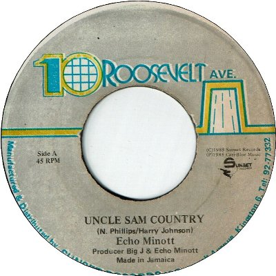 UNCLE SAM COUNTRY (VG+)