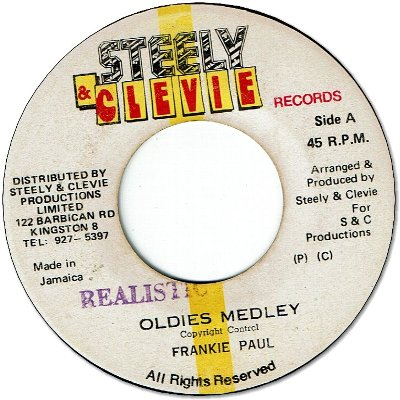 OLDIES MEDLEY (VG+)