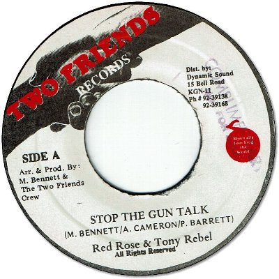 STOP THE GUN TALK (VG)