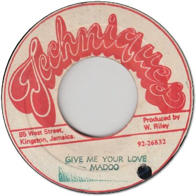 GIVE ME YOUR LOVE (VG+) / VERSION (VG)