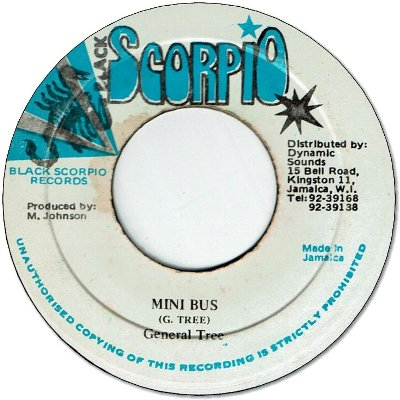 MINI BUS (VG+) / VERSION (VG)