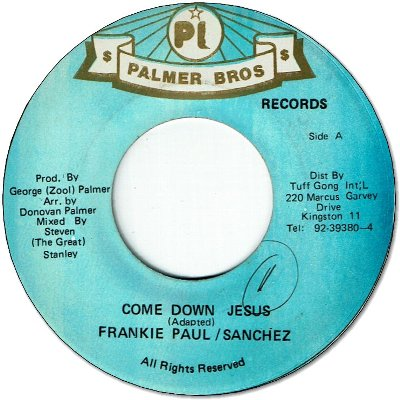 COME DOWN JESUS (VG+)