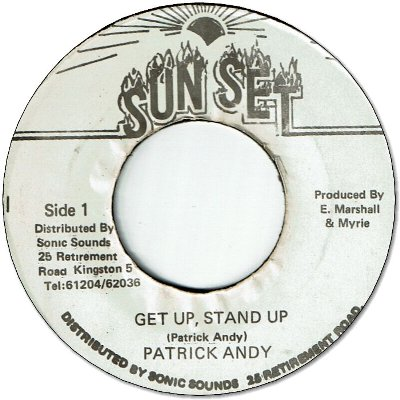 GET UP STAND UP (VG+) / VERSION (VG-)