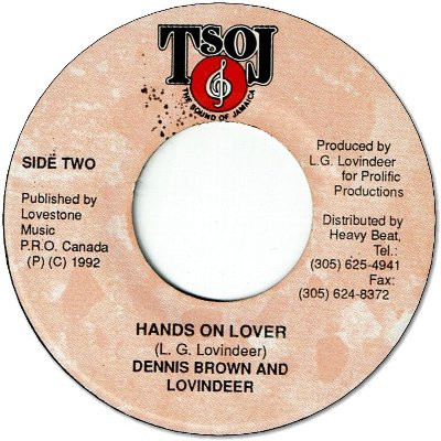 HANDS ON LOVER
