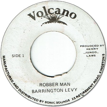 ROBBER MAN (VG+) / VERSION (VG-)