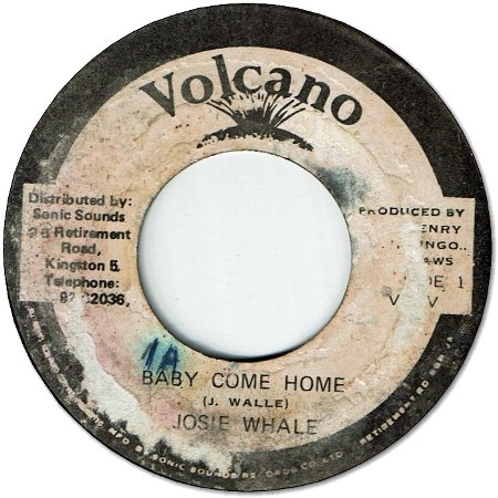 BABY COME HOME (VG+/WOL) / VERSION (VG+)