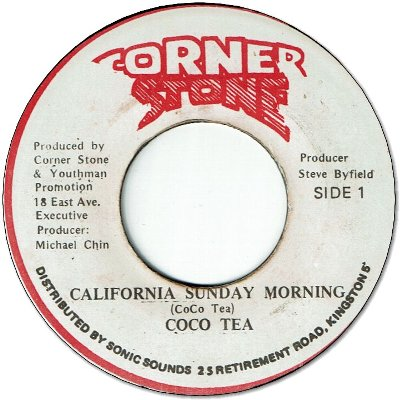 CALIFORNIA SUNDAY MORNING (VG+) / VERSION (VG+)