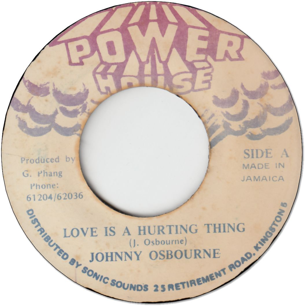LOVE IS A HURTING THING (VG+)