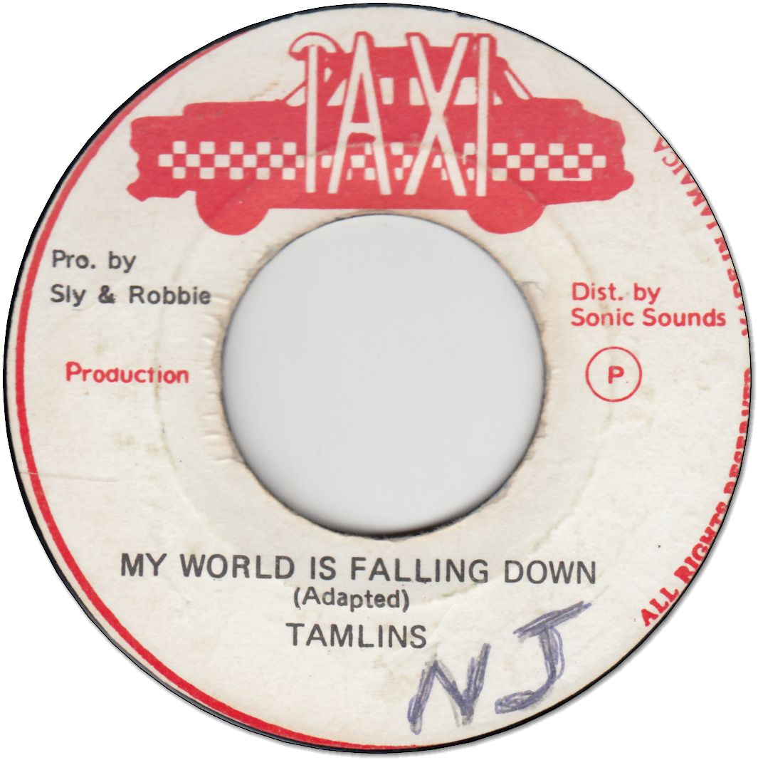 MY WORLD IS FALLING DOWN (VG+/WOL)