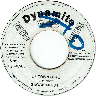 UP TOWN GIRL (VG+/WOL) / VERSION (VG+/WOL)