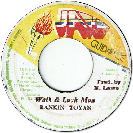 WALK & LOOK MAN (VG+) / VERSION (VG)