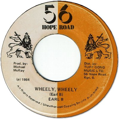 WHEELY WHEELY (VG+) / VERSION (VG-)