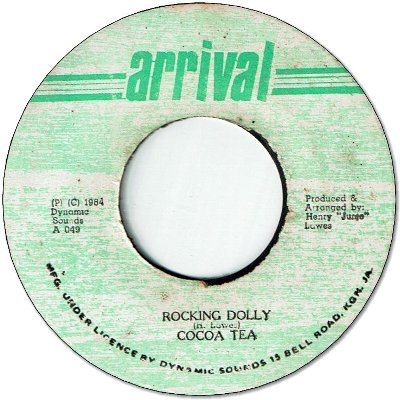 ROCKING DOLLY (VG+) / VERSION (VG)