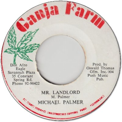 MR.LANDLORD (VG+) / DUB (VG)