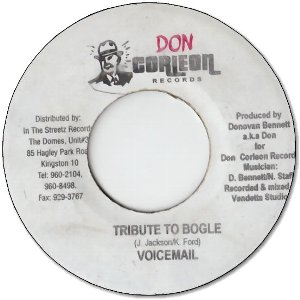 TRIBUTE TO BOGLE (VG+)