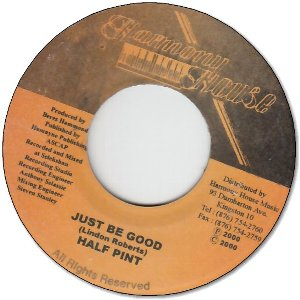 JUST BE GOOD (VG+)
