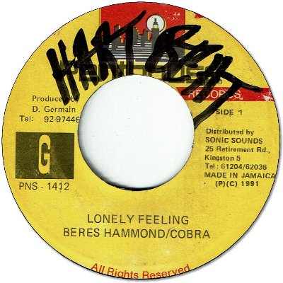 LONELY FEELING (VG+/WOL)