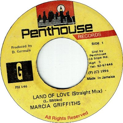LAND OF LOVE (VG+)