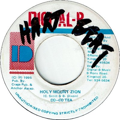 HOLY MOUNT ZION  (VG+/WOL)