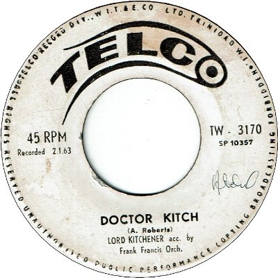 DOCTOR KITCH (VG/SWOL) / COME BACK HOME MEH SON (VG-)