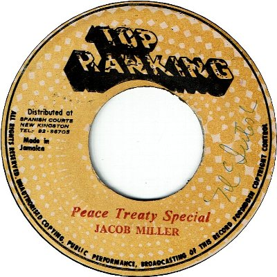 PEACE TREATY SPECIAL (VG+)