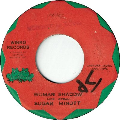WOMAN SHADOW (VG) / VERSION (VG)