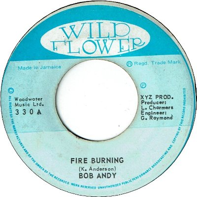 FIRE BURNING (VG+) / BURNING DRUMS (VG/WOL)