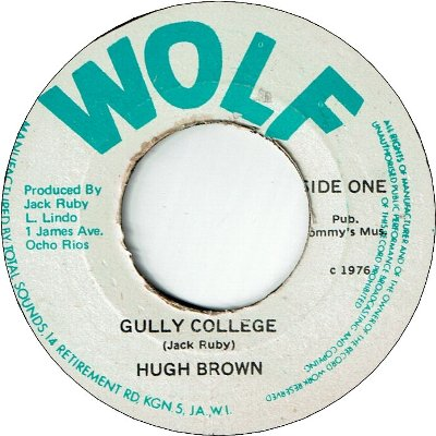 GULLY COLLEGE (VG+) / VERSION (VG+)